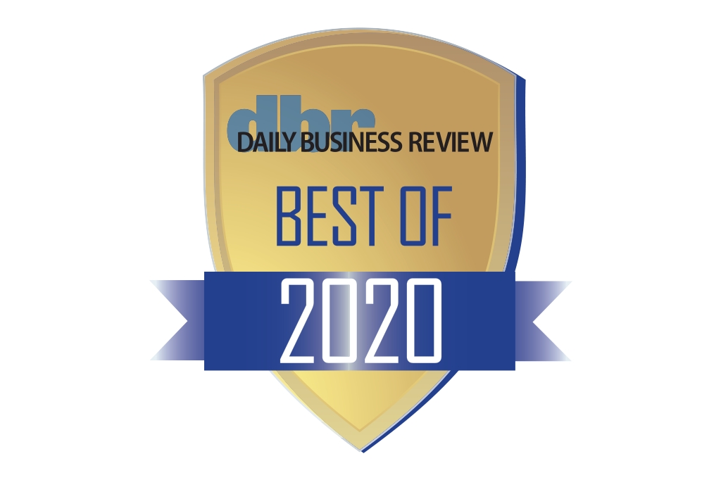 Daily Business Review Best of Award 2020
