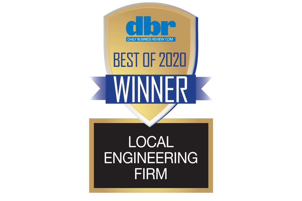 Daily Business Review Best Engineering Firm Award 2020