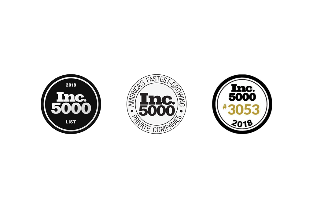 Inc. Magazine 2018 Inc. 5000 Fastest Growing Companies in the U.S. - M2E Consulting Engineers