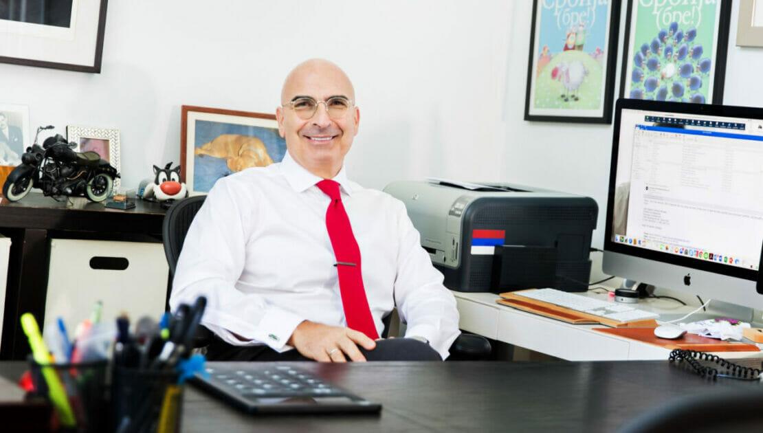 "m2e President Miroslav ""Misha"" Mladenović in South Florida Business Journal's People on the Move"