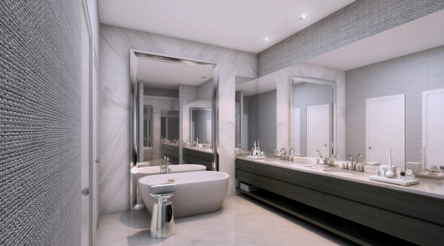 Giralda Place Master Bathroom