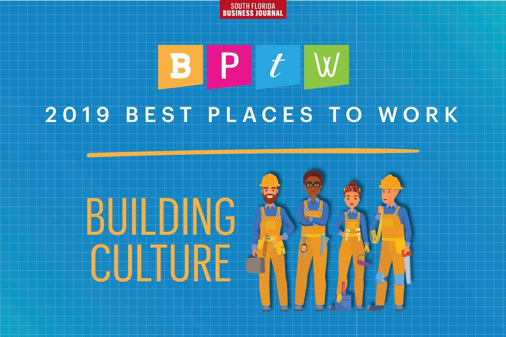2019 South Florida Business Journal Best Places to Work